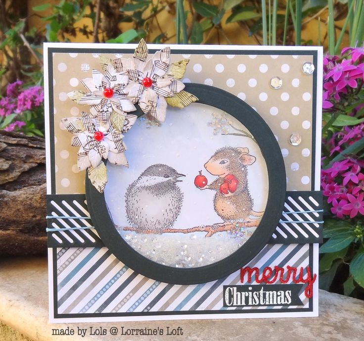 21 best images about house mouse Christmas cards on Pinterest