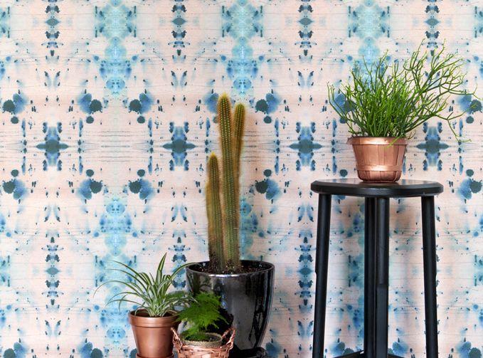 fullfWallpaper Brooklyn Fabric Watercolor Pillows Home