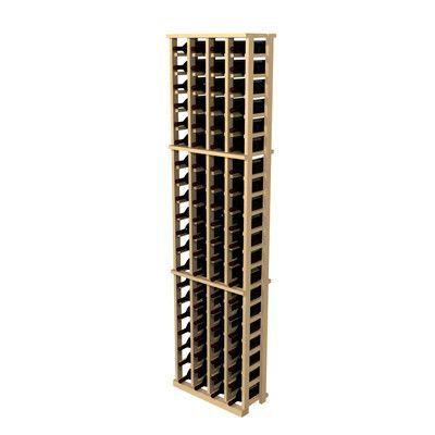 Wine Cellar Rustic Pine 84 Bottle Wall Mounted Wine Rack