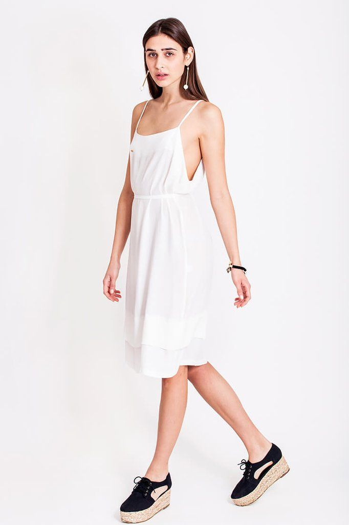 White flowy summer dress from Dott. It can get really hot during the summer in Croatia, and therefore we just love light and flowy dresses. How about you? A walk in the city can get really uncomfortable if you're not wearing the appropriate clothes in the sizzling hot sun. The white dress from Dott. is from the collection Otherwise and is perfect for those summer shopping days or the hot summer nights out.    €135.00 REPIN TO YOUR OWN INSPIRATION BOARD
