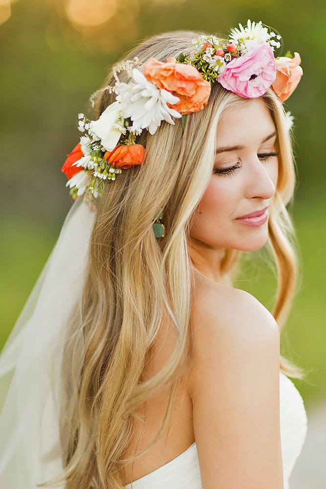 blooming wedding hair bouquets 3