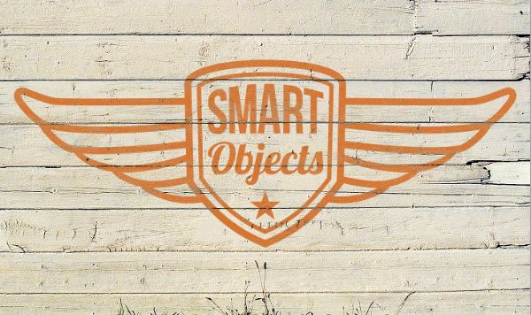Weathered, Painted Logo in Photoshop w/ Vector Smart Objects