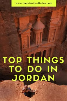 Jordan is a country with so much diversity that figuring out the must visit Jordan tourist spots is not an easy task. Mini travel guide about Amman, Dead Sea, Petra, Wadi Rum, and Ma'in Waterfalls. #jordan #petra #WadiRum #travelguide