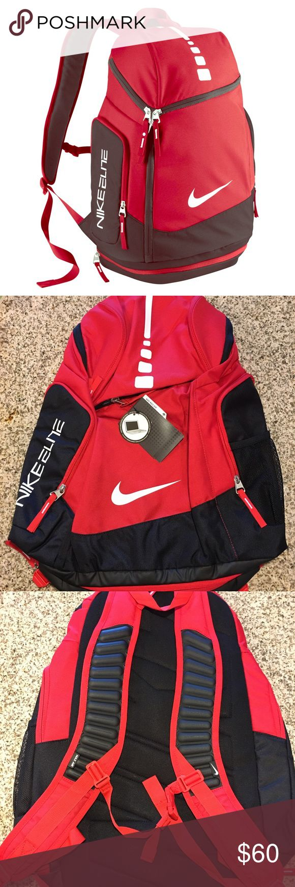 Nike Hoops Elite Max Backpack BRAND NEW. Orders Will be shipped out in 1 day from purchase. If you have any questions or need additional pictures call or text 520-262-1875. I have hundreds of items listed on my Ebay page so look out for them to make there way to my Poshmark page as well. Thanks! Nike Bags Backpacks