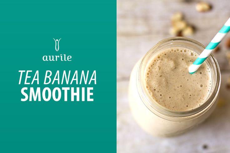 Aurile Euphoria Tea Banana Smoothie