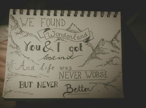 Wonderland- Taylor Swift lyrics