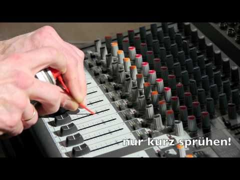 Behringer PMP3000, Xenyx 2442FX/USB how to clean channel fader, tutorial - YouTube