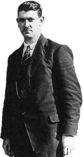 Michael Collins in 1921. Find out more about Michael Collins on Ireland Calling