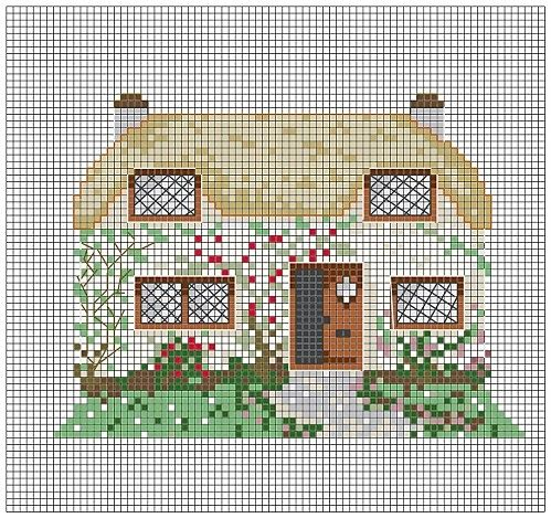 cottage cross stitch | REPINNED