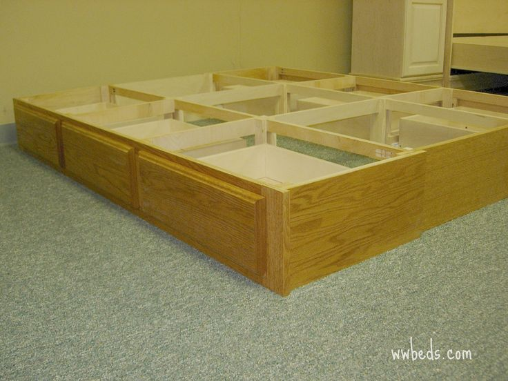 Making Beds With Drawers Under Bed Drawer Pedestal