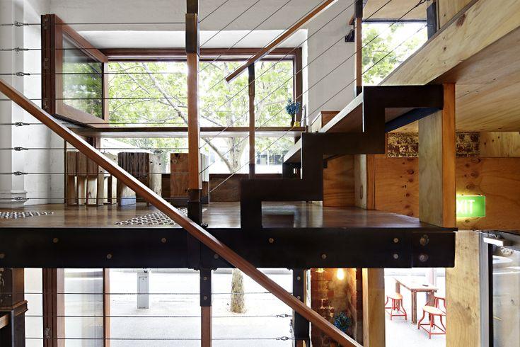 «Вертикальное» гостеприимство – поразительный внутренний дизайн кафе