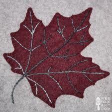 Wool leaf