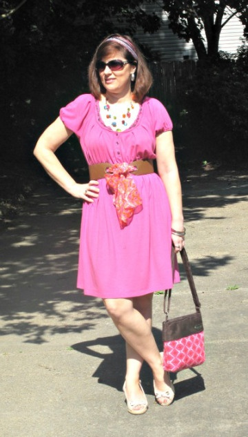 Passionate for Pink Dresses and Skirts Over 40 Petite Blogger