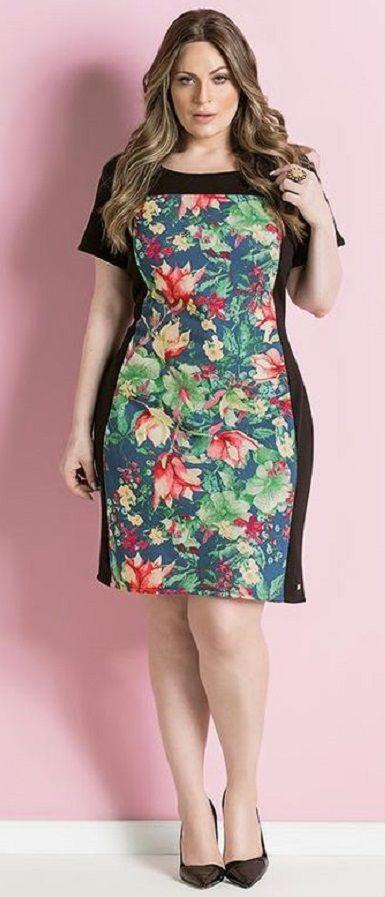09b vestido florido primavera