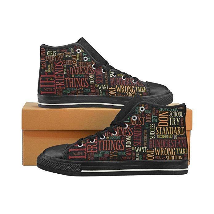 70b0d6770c61d Amazon.com: Fashion Men's High Top Canvas Lace Up Shoes Trainers ...
