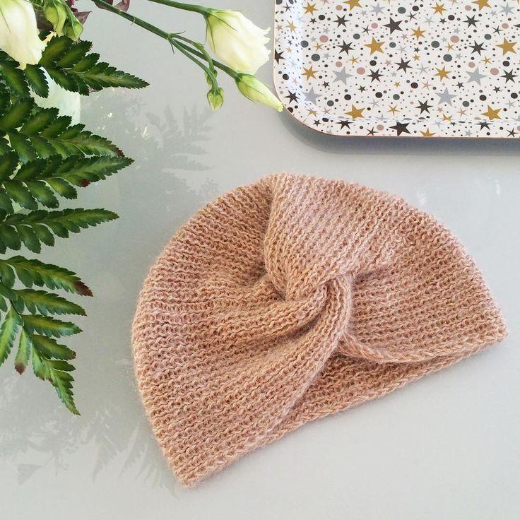 Knit a turban in retro style – Marie Claire