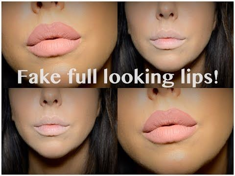 Fake a Full Looking Lip - Kylie Jenner Style! - YouTube