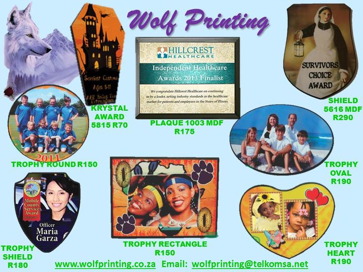 Plaques to display your photos