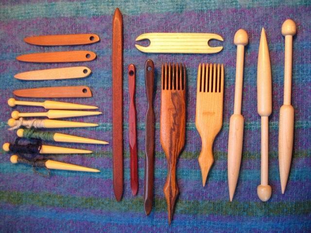 Tapestry weaving tools