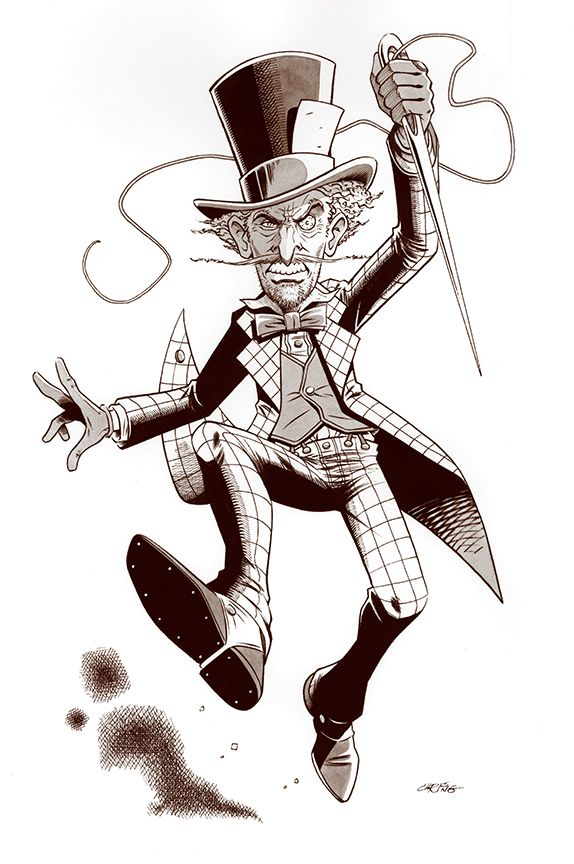 Jervis Tetch - The Mad Hatter by 93Cobra on DeviantArt