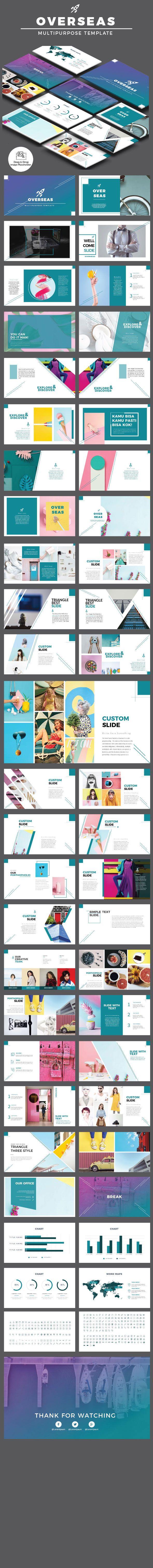 Overseas Multipurpose Powerpoint Presentation Templates - Business PowerPoint Templates