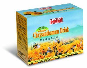 Gold Kili Instant Chrysanthemen Drink with Honey, 10-Count Packets (Pack of 4) by Gold Kili. $14.87. Helps relieve headaches. Believed to contribute to alertness. Helps lower blood pressure and consequently also helps in the treatment of other related ailments, i.e. angina and other heart problems. This beverage is made from the highest quality chrysanthemum and pure honey. The chrysanthemum was said to have originated in China and was introduced to Japan by th...