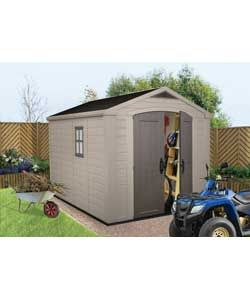 Keter Plastic Apex Shed - 8 x 11ft.
