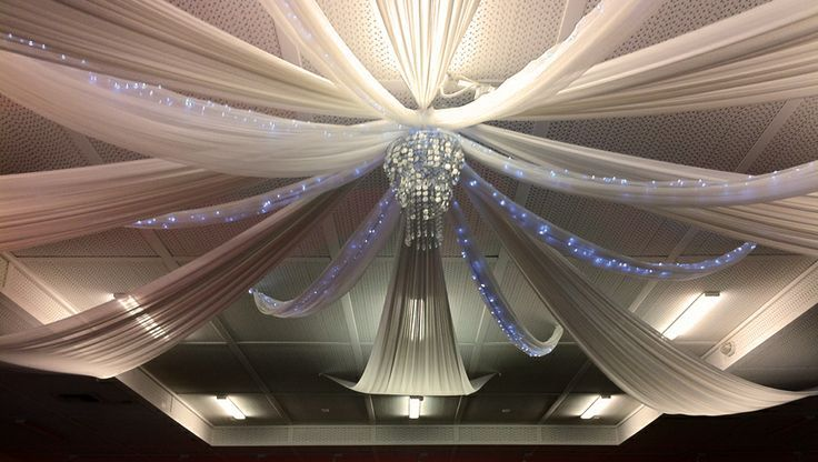 64 best wedding ceiling decor images on pinterest reception ideas diy ceiling and wall draping kits httpwedding flowers solutioingenieria Images