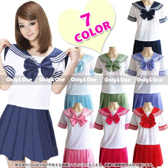 >> Click to Buy << 2016 Newest Japanese School Uniform  Sexy Sailor Costumes  Anime Girls Dress Cosplay Costume 7 COLOR #Affiliate