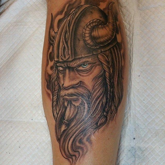 Los brutales tatuajes vikingos, ideas y su significado