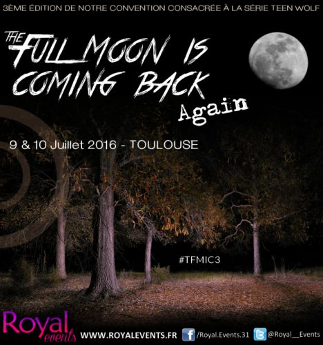The Full Moon Is Coming Back Againà Toulouse : Ryan Kelley remplace Holland Roden en dernière minute ! - Cinealliance.frCinealliance.fr