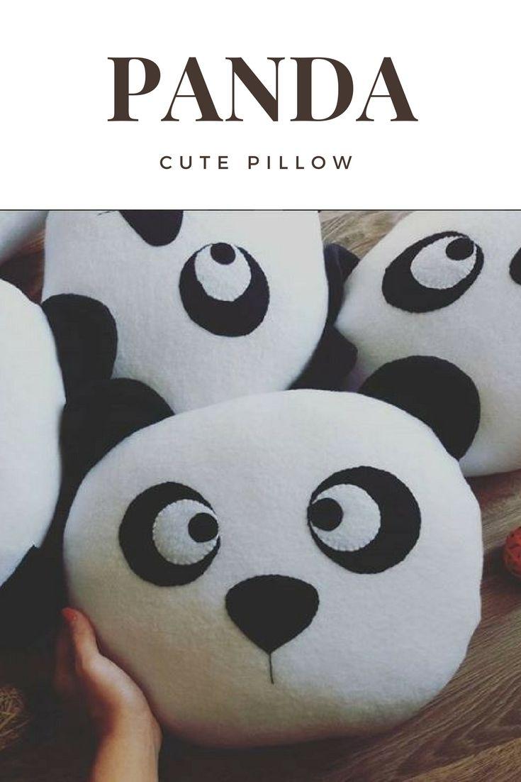 panda pillow panda lover panda gifts gifts for panda lovers