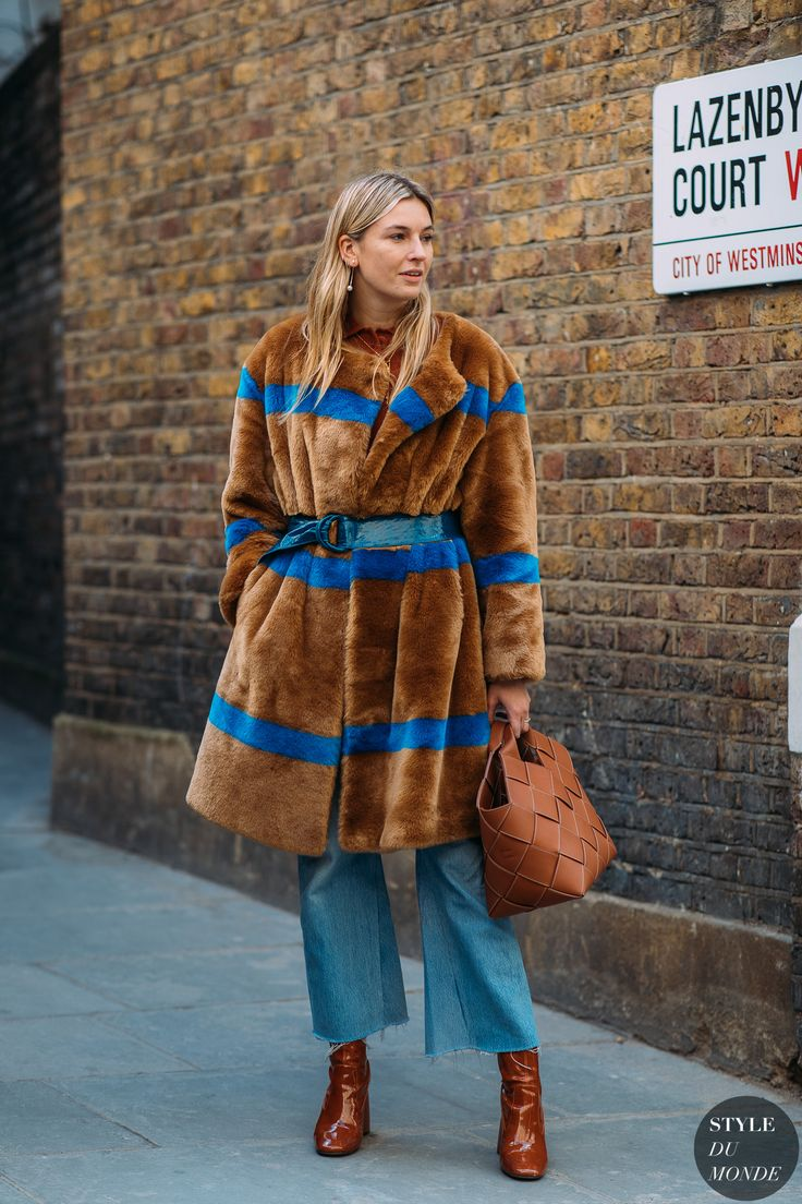 London FW 2018 Street Style: Camille Charriere