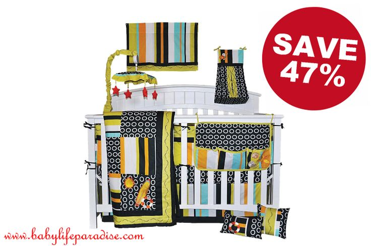 Baby bedding can be very expensive, and it has limited use if the pattern is too baby specific. This gender baby crib bedding set comes with 10 pieces, and can be used for years, for both boys and girls. Order now:http://babylifeparadise.com/accessories/cheap-baby-stuff/gender-nuetral-10pc-beach-surf-baby-crib-bedding-set-unisex