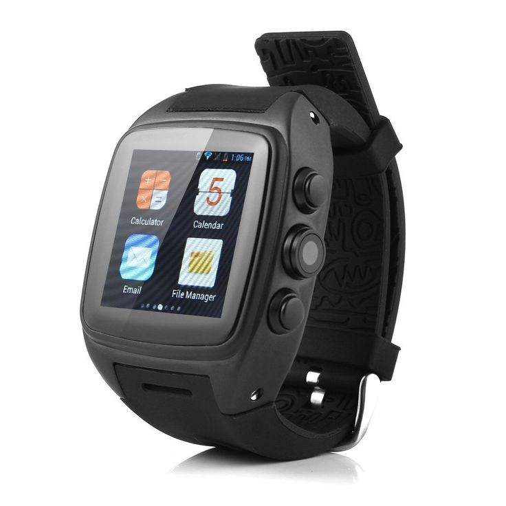 iMacwear SPARTA M7 Smart Watch Phone - IP67 Waterproof Rating, 1.54 Inch Touch Screen, Android 4.4 OS, Dual Core CPU, 3G. With the latest Android 4.4 OS which supports most of popular applications.Support Wifi, G-sensor, GPS, Bluetooth 4.0, mic, hands free speaker, Ebook, Email, messaging, wallpapers, compass, calendar, calculator, clock, camera, google play store and so on. trong performance MTK6572 dual-core processor, with high-speed Internet connectivity, bring the comfortable web...
