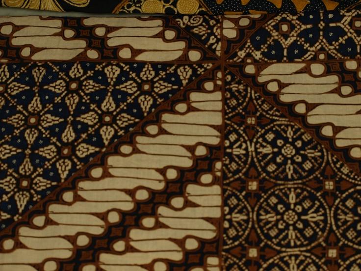 Solo traditional batik patterns