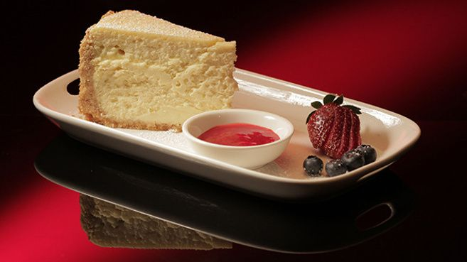 Baked Vanilla Cheesecake from Nev and Kell, My Kitchen Rules Australia.