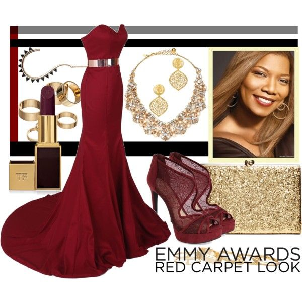 GetDress Getih - Queen Latifa by revinaangela on Polyvore featuring Jessica Simpson, Kate Spade, Kendra Scott, Apt. 9, Kenneth Jay Lane and Tom Ford