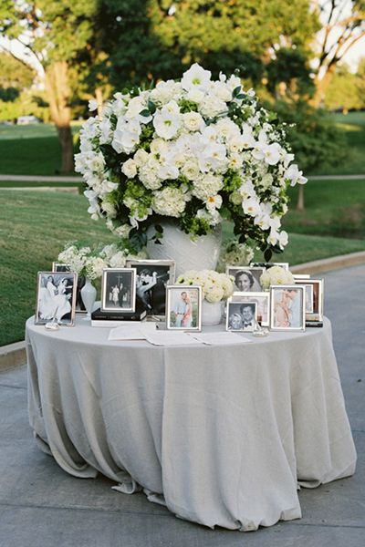 25 Best Ideas About Wedding Memory Table On Pinterest
