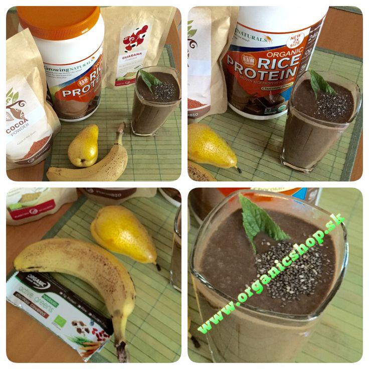 Bio raw protein breakfast