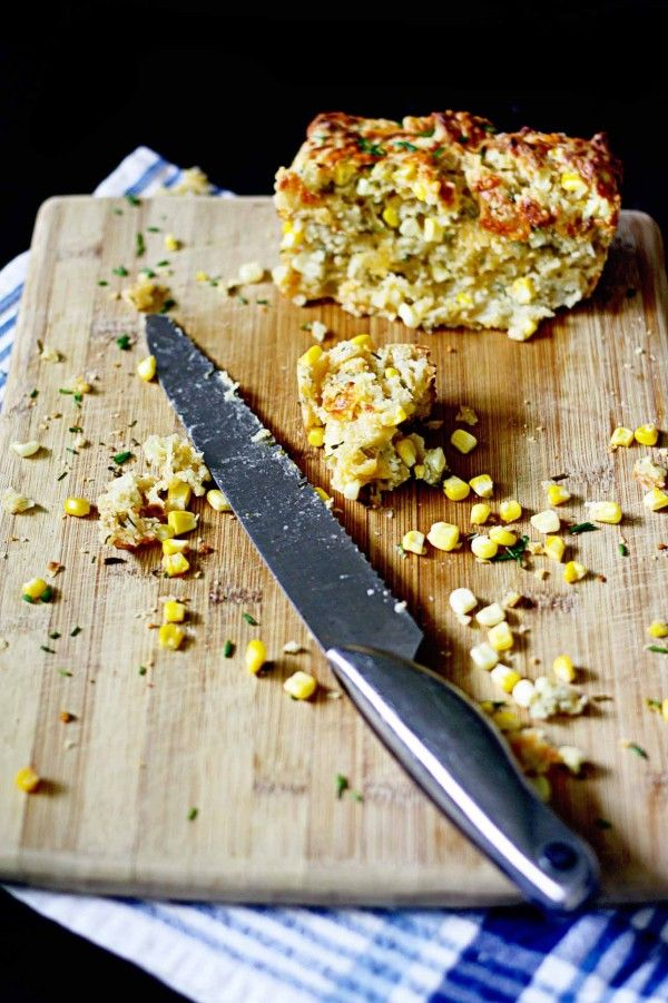 Can't wait to try this one! Cheddar Chive and Corn Beer Bread