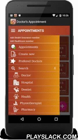 "Doctor Appointment Lite  Android App - playslack.com ,  Forgetting is a common complaint/factor that everyone shares. ""Doctor's Appointment Reminder"" application helps you to remember your important meeting dates with Doctor or to visit hospital. Following are the features of Doctor's appointment reminder application• Reminds your day of appointment.• Automatically creates and adds appointment to any of your calendar.• Automatically backs up user's appointment calendar and restores on…"