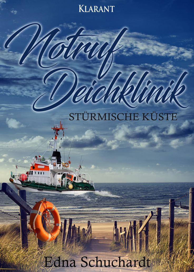 """#Ankündigung """"Stürmische Küste""""  Diesen Termin müsst Ihr Euch unbedingt vormerken, denn es wird spannend an und auf der #Nordsee: Am Donnerstag, 30.11., erscheint der 4. Band der beliebten """"Notruf Deichklinik Serie"""" von EDNA SCHUCHARDT! #NotrufDeichklinik #EdnaSchuchardt"""