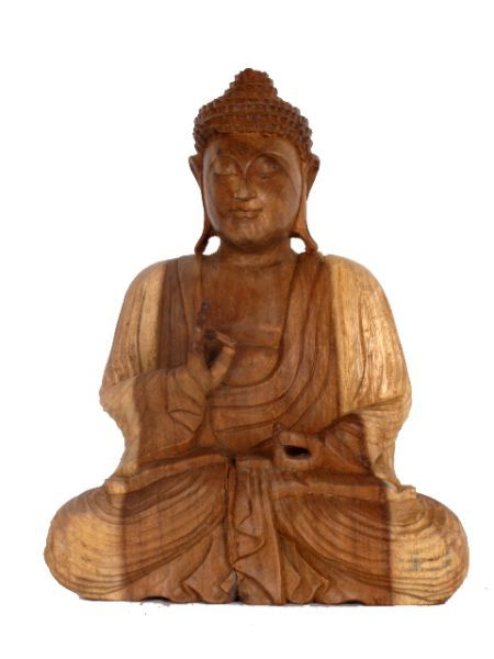Figura Buda tallada en madera de teca, alto 30 cm. http://www.aleko.kingeshop.com/Figura-Buda-tallada-en-madera-de-teca-dbaaaaila.asp