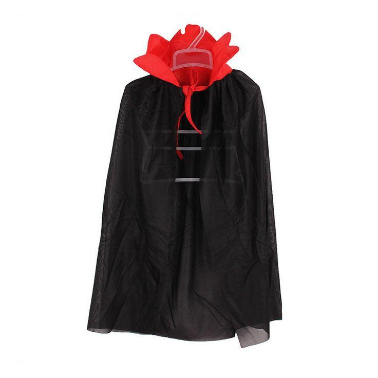 Kids Popular Halloween Costume Theater Prop Death Hoody Cloak Devil Long Tippet Cape #Affiliate