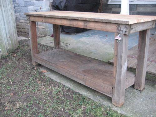 Vintage Primitive Kitchen Island Table Rustic Work Bench Reclaimed Wood    eBay. 28 best kitchen islands images on Pinterest
