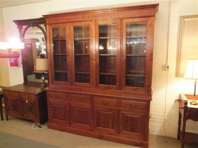 Massief kersenhouten boekenkast - Gerestaureerde antieke meubelen en…
