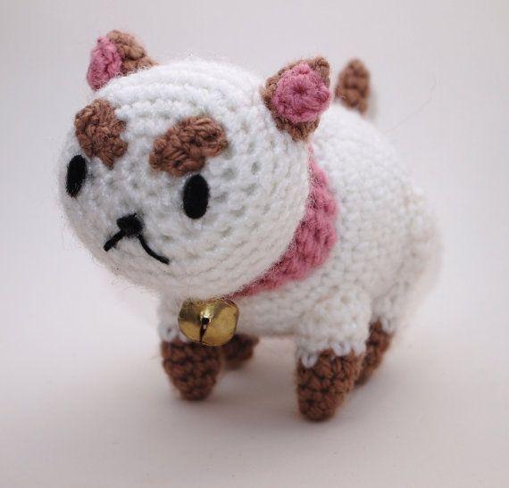 Tiny PuppyCat Crochet Amigurumi Cat Plushie Stuffed Jingle ...