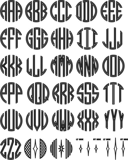 25 best ideas about monogram template on pinterest silhouette