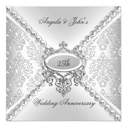 1000 Ideas About Wedding Anniversary Invitations On Pinterest